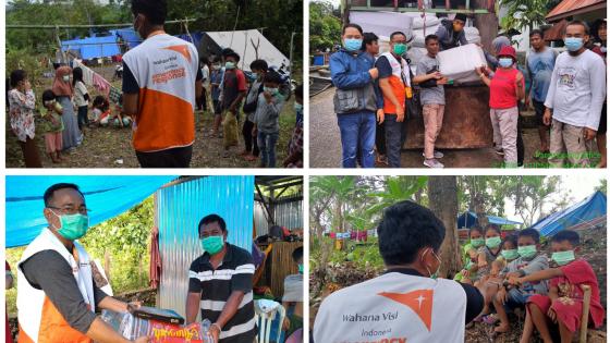Peduli Korban Gempa di Sulawesi Barat